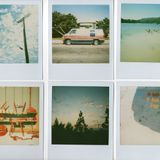 """Grainy memories on saturated polaroids"", a Boards of Canada special"