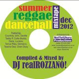 Summer Reggae & Dancehall Mixtape Dec 2012 - compiled & mixed by realROZZANO