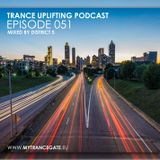 Trance Uplifting 051 Mixed by District 5 (30-12-2018)