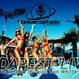 John von Wh1te - BUDAPEST LIVE! radioshow (123.)