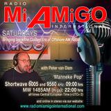 Peter van Dam - Returning to Radio Mi Amigo              (his 1st show)