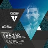 Rødhåd (Token, Dystopian, 50 Weapons Records - Berlin) @ The Garage - Liverpool (11.03.2016)