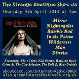 The Strange Boutique Show 123