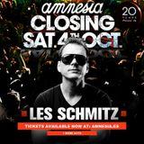 """Les Schmitz - Amnesia Ibiza """"Closing Party"""" 2014"""