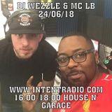 DJ WEZZLE MC LB - INTENTRADIO.COM Live Show_06-24-2018_4-6PM
