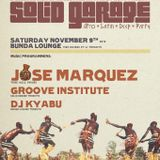 Jose Marquez live at Solid Garage, Toronto 11/9/2013