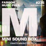 Lykov – Mini Sound Box Volume 235 (Weekly Mixtape)