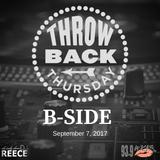 #TBT on WKYS 9-7-2017 B-Side