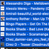 DANCE DEPARTMENT RADIO TRACKS CD1 (Mixed)