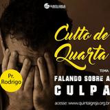 """Culto de Quarta - 16/05/2018 """"Cura"""" - Pr. Rodrigo - Texto Bíblico: Salmo 32:1-5"""