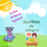 Susana la gusana presenta al hogar social Semillitas de alegria 2