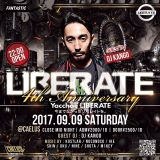 """LIBERATE WEEKLY MIX vol.134 """"2017 August Brand-new mix"""" mixed by DJ IKE"""