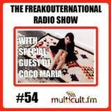 The FreakOuternational Radio Show #54 with DJ Coco Maria 19/02/2016