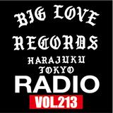 BIG LOVE RADIO vol.213 (JAN.26.2019)