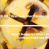 Tomaz - Warsaw Mechanism nad Wisłą #4 with Maxx [28.08.2016]