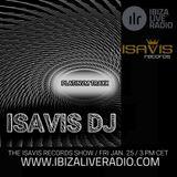 Platinvm Traxx 13 by IsaVis DJ for the IsaVis records show, Ibiza Live Radio, 2019 Jan. 25th