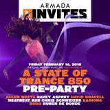 Rodg, Ruben de Ronde - Armada Invites @ A State Of Trance 850 Pre-Party (16.02.2018)