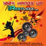 DJ Restlezz - 100% Hands Up Vol. 1