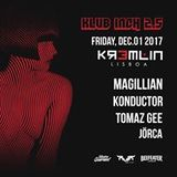 TOMAZ GEE live at Klub Inch 2.5 by Musica Gourmet - Lisboa (Dec.17)