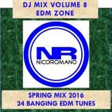 Nico Romano Dj Mix Volume 8 EDM Zone - Spring 2016