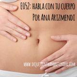E052 - Habla con tu cuerpo