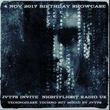 Showcase JVT78 Invite Birthday Special Nightflight Radio UKl4nov 2017