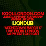 LIONDUB  - 03.08.17 - KOOLLONDON [JUNGLE D&B LIVE FROM KOOL HQ LONDON]