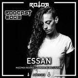 Rotor Podcast 003 - ESSAN (Agosto 2018)