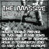 2016 09 23: The Massive