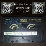 Ben Sims Live on Interface Radio 14/1/2000