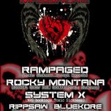 Rocky Montana  - live@Holland De Bunker Den Helder 14.02.2015 Valentines Massacre