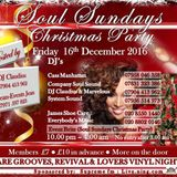 SOUL SUNDAYS CHRISTMAS PARTY PART TWO....THE SYSTEM SOUND & CASS MANHATTAN