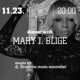 """THE MUSIC SOMMELIER -presents-  """"DINNER WITH MARY J BLIGE"""" A DINNER SERIES @ INNIO"""