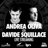 Andrea Oliva b2b Davide Squillace - Live at ANTS, Blue Parrot, The BPM Festival 2017 (06-01-2017)