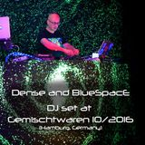 Dense and BlueSpacE at Gemischtwaren, Hamburg (GER), 10/2016, B2B DJ set recording