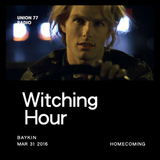 Witching Hour @ UNION 77 RADIO 31.03.2016 'Homecoming'