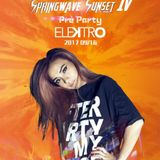 Spring Wave Sunset Festival Warm up Party -  DJ Cookie  Elektro Taipei Live Set