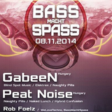 Peat Noise @ BASS MACHT SPASS, Club Muttermund, Ludwigsburg (GER) (08.NOV.2014)