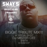 @DJMISTERCEE Sway In The Morning Biggie Tribute Interview + Mix (March 9th,2016)