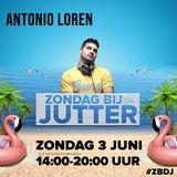 DJ Antonio Loren Live @ Zondag bij de Jutter 3 Juni 2018