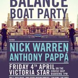 Anthony Pappa - Live At Darkbeat Pres. BALANCE Boat Party (Melbourne) - 04-Apr-2014