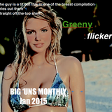 GREENYflicker presents Big 'uns Monthly, January 2015