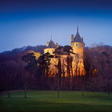 Sunset at Castell Coch - podcast001 by thin.collins