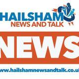Martina Mercer with Viktoria Cowley of Hailsham News & Talk and Shop Local - 25.2.18