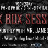 Dark Box Sessions 025 Special guest Vikkei 07.03.2018