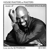 House Masters at Masters - live