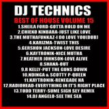 DJ Technics Best Of House 15