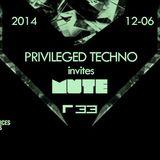FEEL - Privileged invites Mute Promo Mix