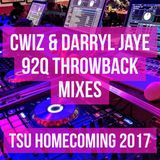 Cwiz & Darryl Jaye 92Q Throwback Mixes TSU Homecoming 2017