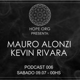 Mauro Alonzi @ Hope Org Podcast 006